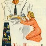 """Реклама галстуков. Надпись на плакате гласит: """"Show her it's a man's world"""" - """"Покажи ей, что это мир мужчин"""""""