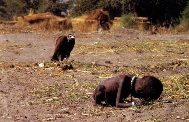 """Голод в Судане"" Кевин Картер"
