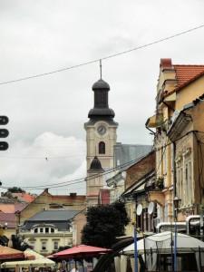Улица Волошина. Римско-католический костёл Св. Юрия