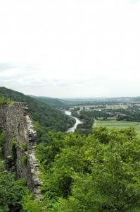 Река Уж. Вид с Невицкого замка