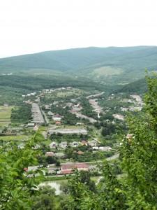 Село Камяница. Вид с Невицкого замка