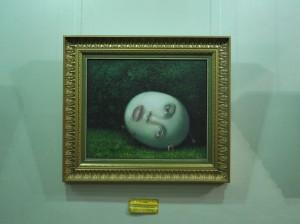 """""""Волшебный взгляд ночи из глубины зеленого сада"""", 2008 г."""